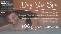 Day Use Spa