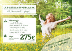 La Bellezza in Primavera